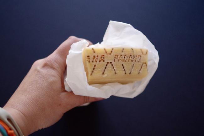Pasta der Woche: cacio é pepe mit Grana Padano Käse