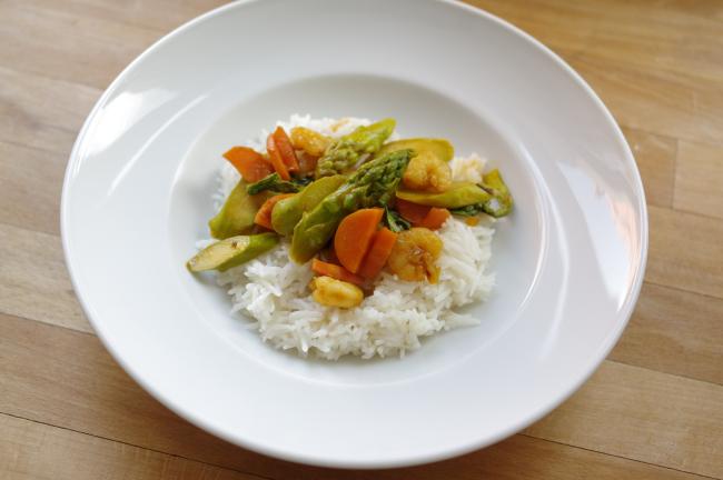 Marit-Fix für Asia-Gemüse-Pfanne